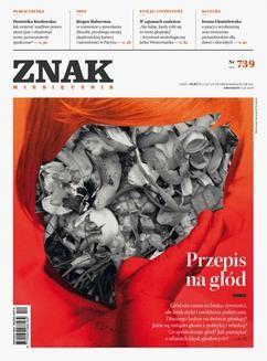 Chomikuj, ebook online ZNAK Miesięcznik nr 739: Przepis na głód. autor zbiorowy