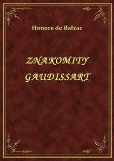 Chomikuj, ebook online Znakomity Gaudissart. Honoré de Balzac