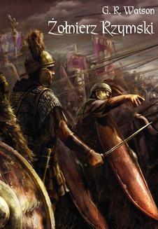 Chomikuj, ebook online Żołnierz rzymski. G.R. Watson