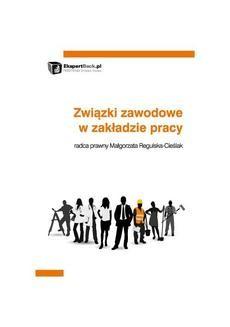 Ebook Związki zawodowe w zakładzie pracy pdf