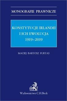 Ebook Konstytucje Irlandii i ich ewolucja 1919-2019 pdf
