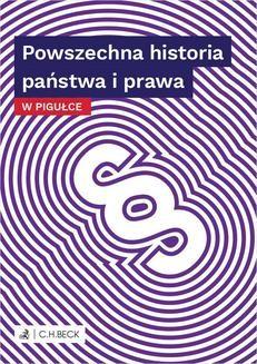 Ebook Powszechna historia państwa i prawa w pigułce pdf