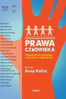 Ebook Prawa człowieka. Współczesne zjawiska, wyzwania, zagrożenia. Tom II pdf