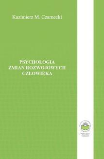 Ebook Psychologia zmian rozwojowych człowieka pdf