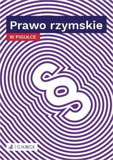 Chomikuj, pobierz ebook online Prawo rzymskie w pigułce. Wioletta Żelazowska